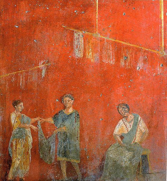 El Oficio de Tintorero: El Relevo_Pompeii_Fullonica_of_Veranius_Hypsaeus