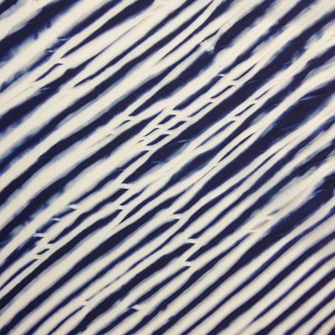 Arashi Shibori_Detalle_Curso de capacitación en Tintes Naturales_The Dyer's House