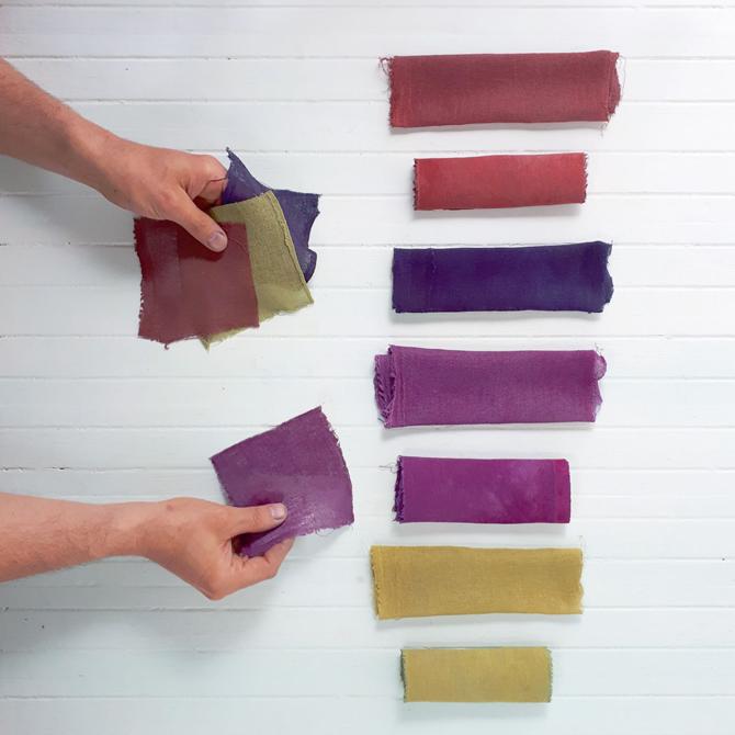 Tintes Naturales en Fibras Celulósicas